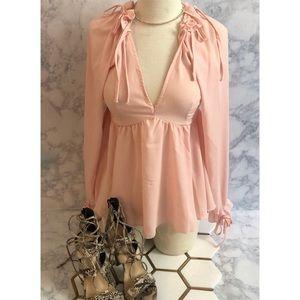 Light pink ASOS blouse